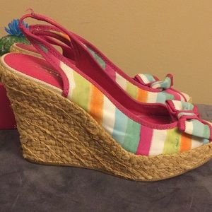 ee9c13ff36ce Coach Shoes - Authentic Coach GRACE Multicolor Platform Sandals